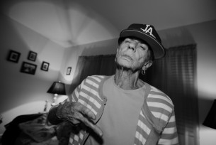 DG had some fun shootin his gramma whos still in gang at 80 years old